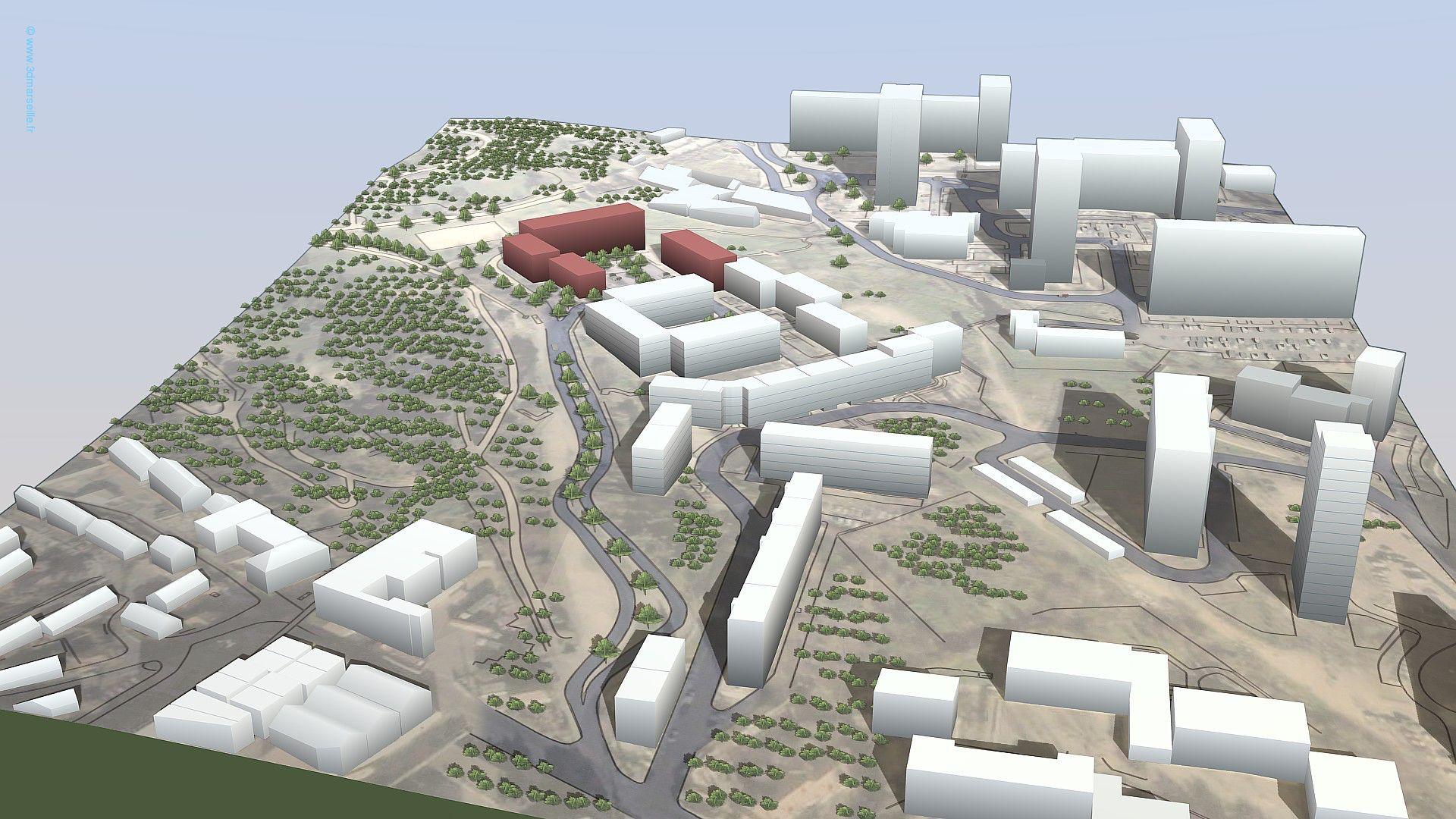 Cité ST Paul à Marseille restructuration