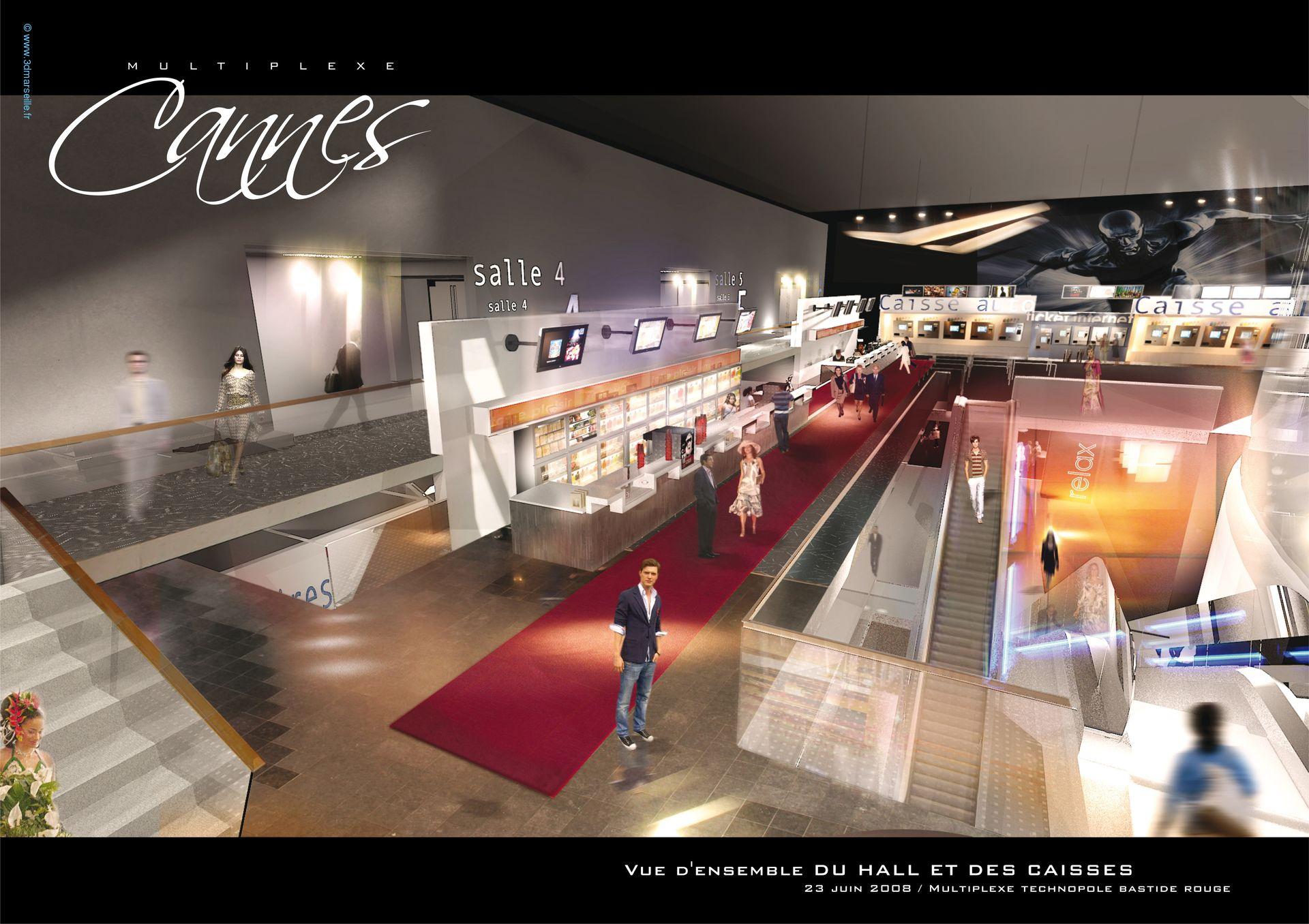 Multiplexe cinéma Kinepolis
