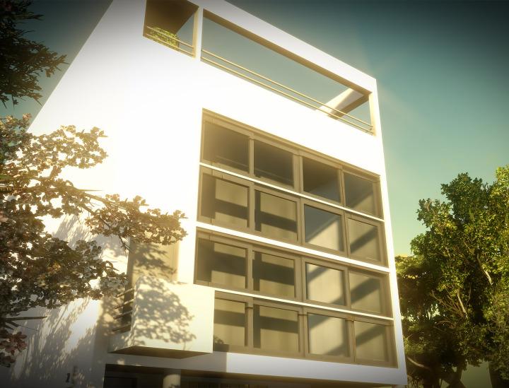 Libre interprétation d'une Villa Moderne de Le Corbusier