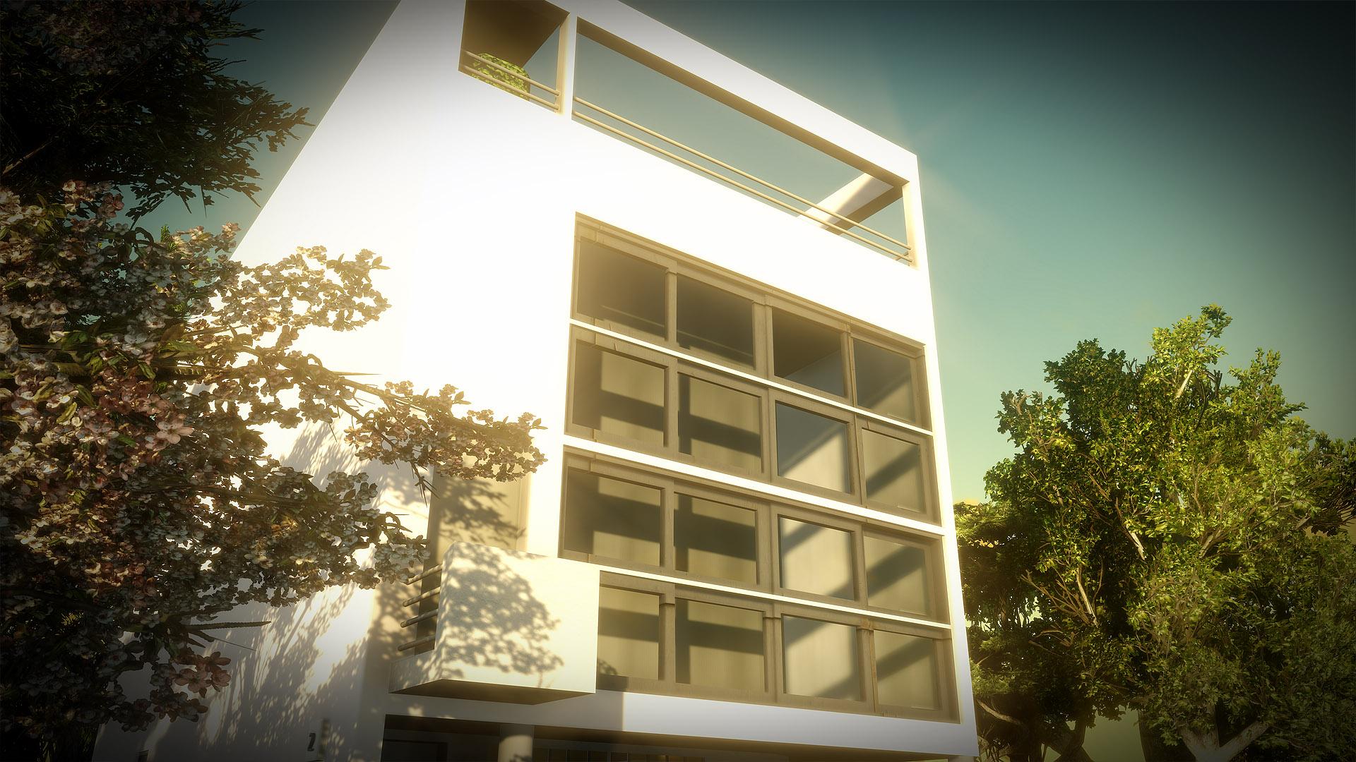 Libre interprétation Villa Moderne Le Corbusier - Animation d'introduction pour un événement hommage