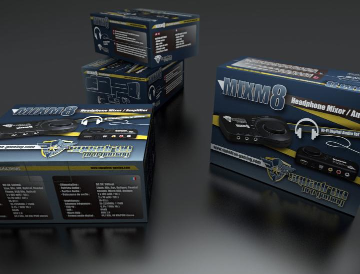 Packaging MXM8  Visualisation 3d
