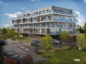 75 logements collectifs Le Vallon d'Hermé, zac de la Pelousière