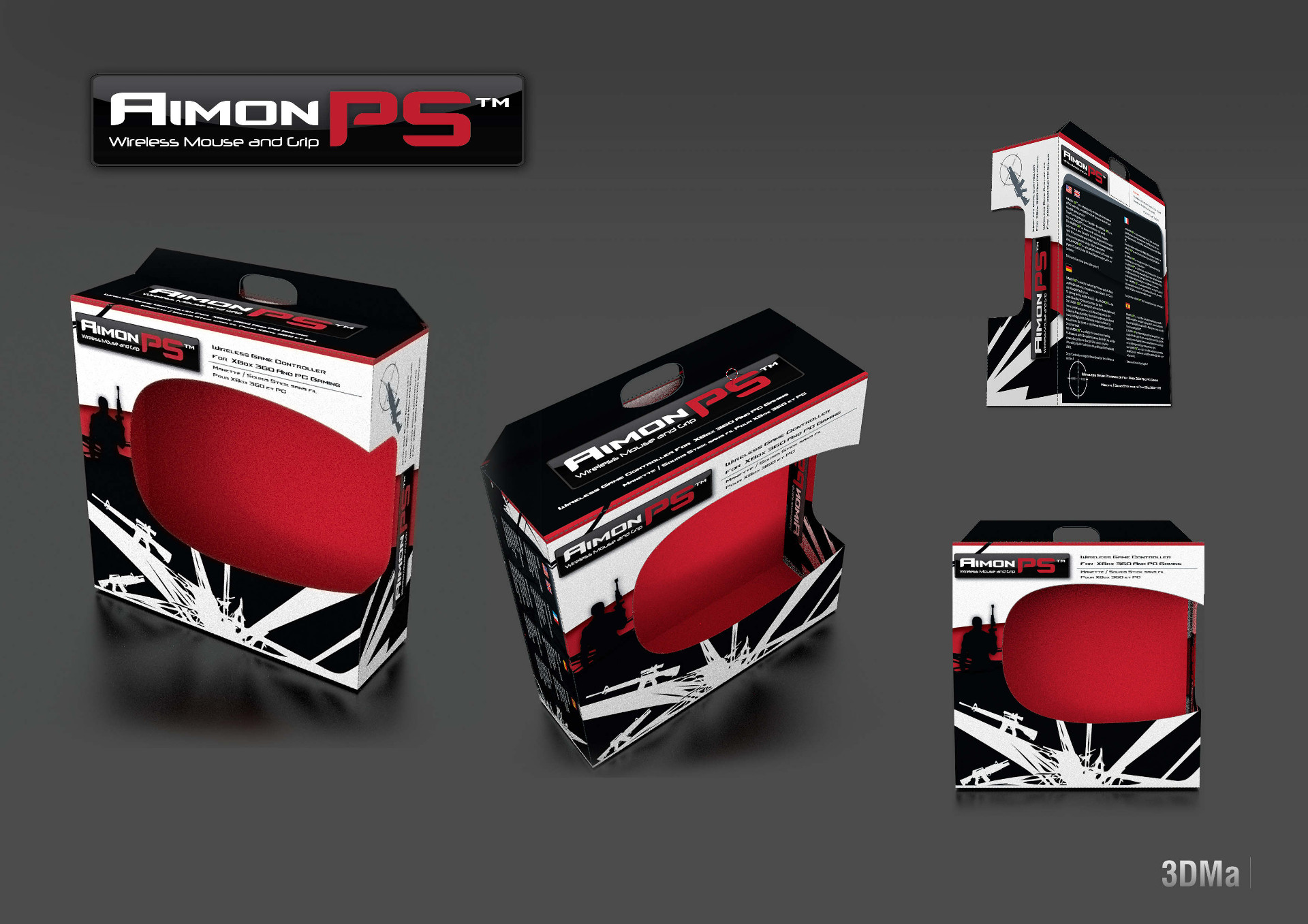 Packaging AIMON PS3