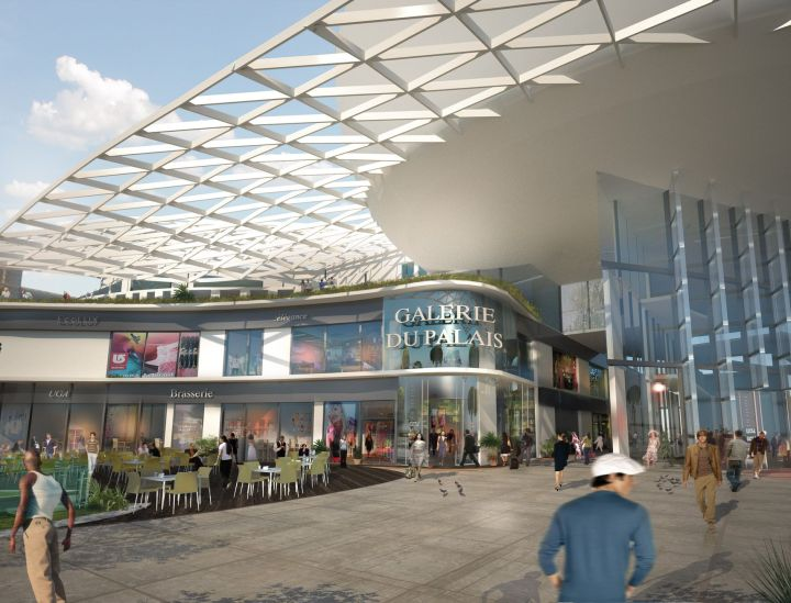 Palais des congrès Antibes-Juan les pins phase 2