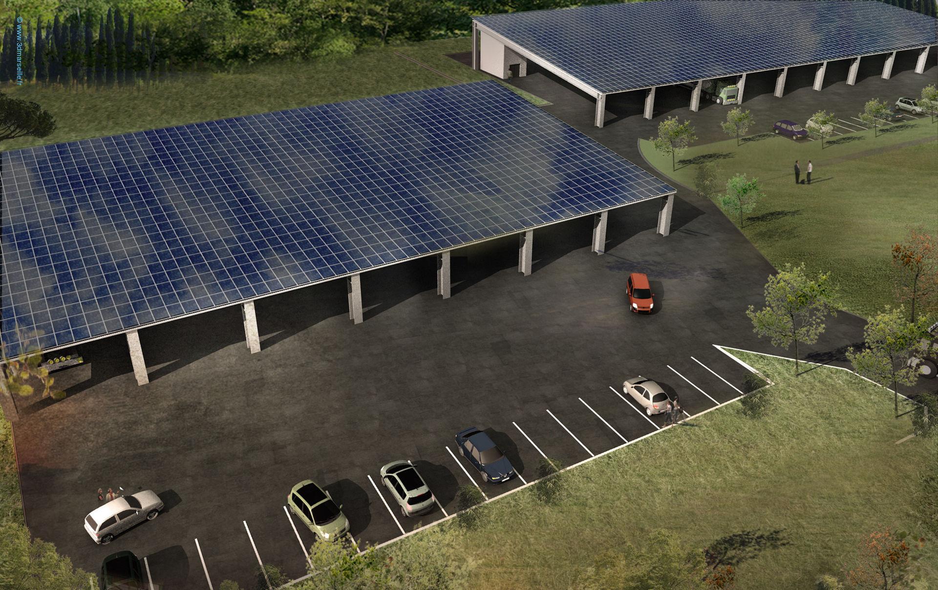 Hangar solaire