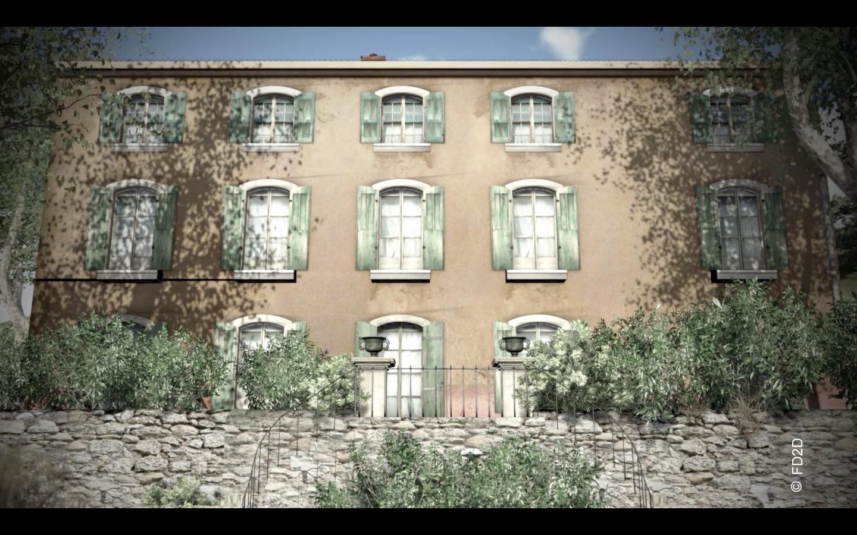 Reconstitution Villa airbel 1940