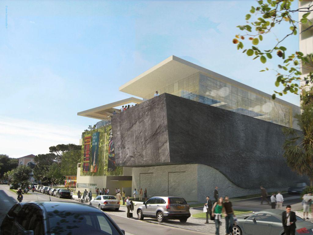 Palais des congr s antibes juan les pins 3d marseille for Architecte interieur antibes