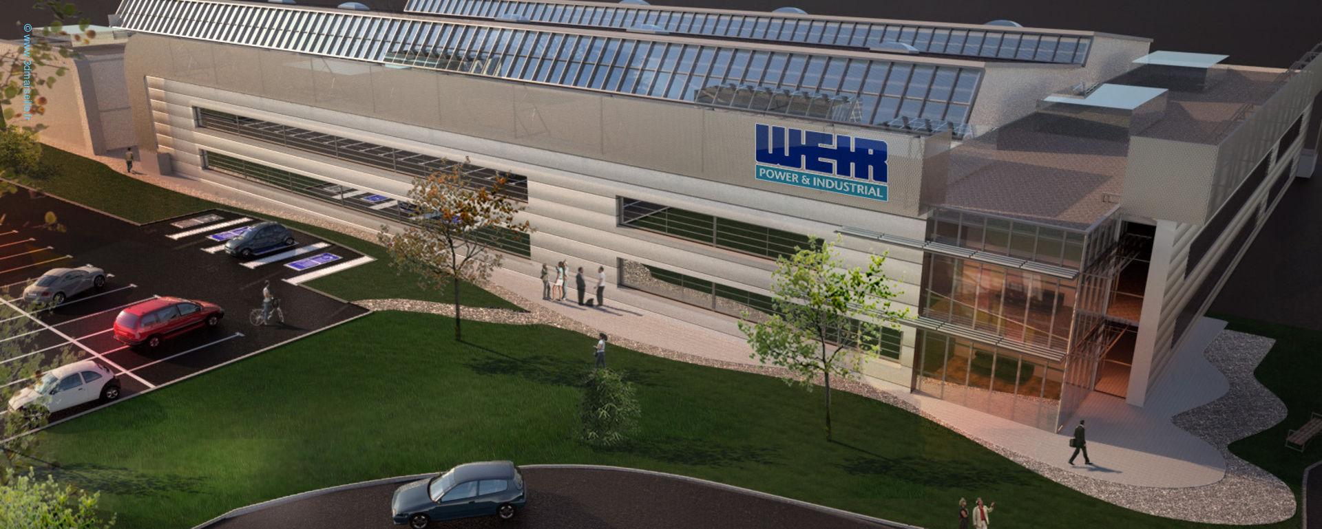 Site industriel St-Victoret WEIR - En images