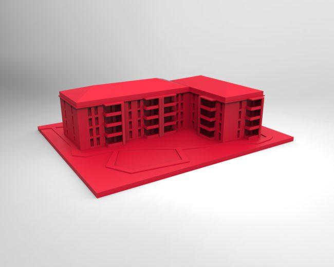 MAQUETTE IMPRESSION 3D IMMOBILIER