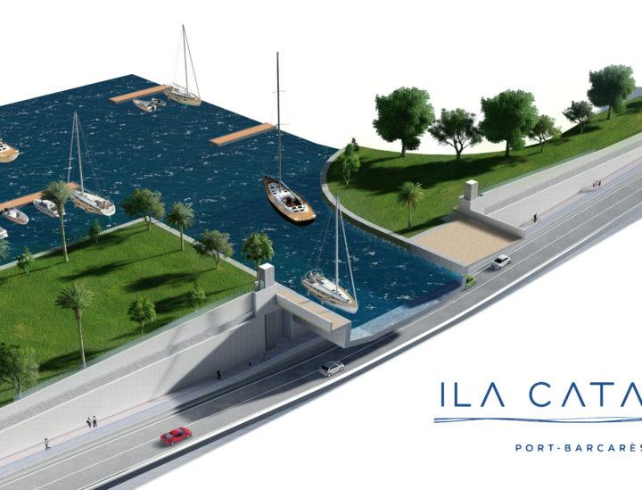 Aqueduc Port Barcares – map