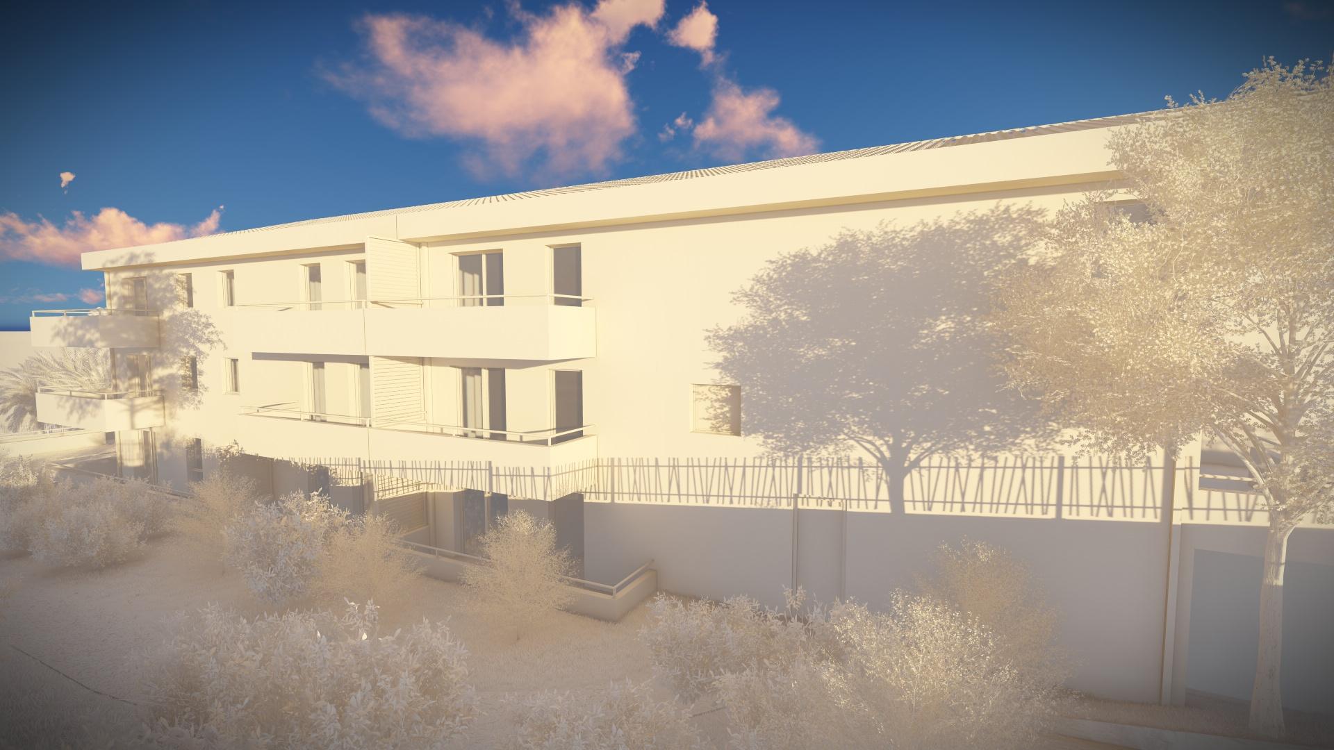 Bleu Horizon - Sogima -Immobilier à La Ciotat - Animation 3d