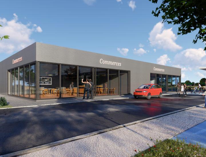 Prévisualisation 3D de commerces a Marignane – Quattrone