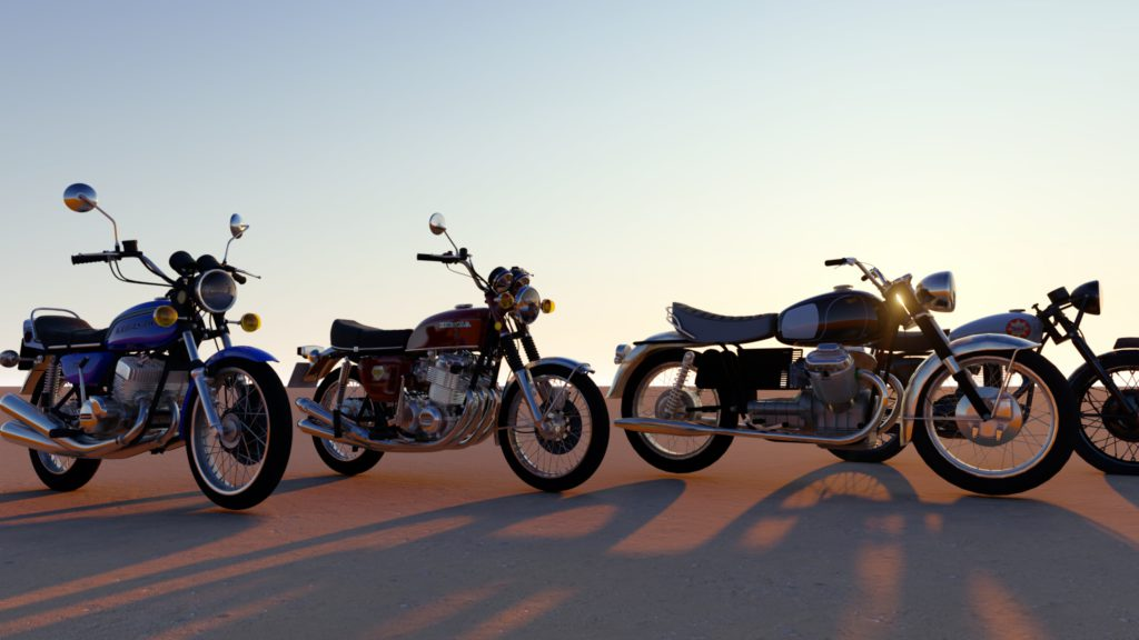 Motos pour Cathedral Motors