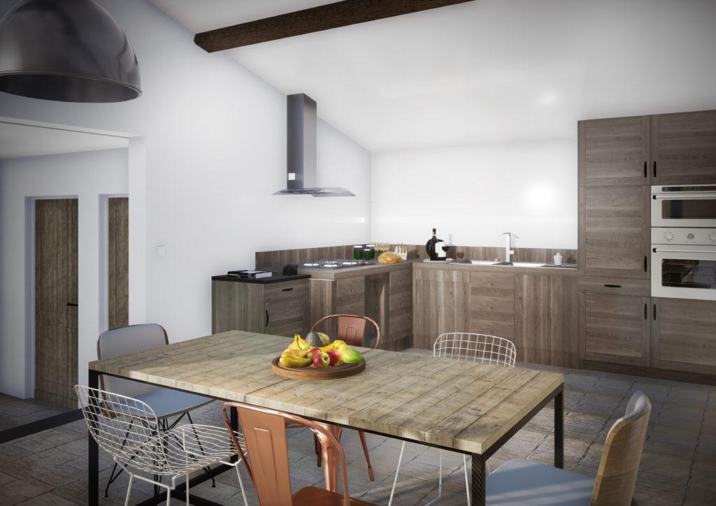 Aménagement de l'espace cuisine